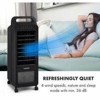 Cooler Rush, Fan, Air Cooler, 5.5L, 45W, Remote Control, 5 x Ice Pack