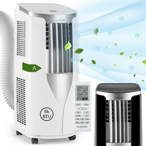 New Breeze 9 Climatiseur mobile 9000 BTU Classe énergétique A télécommande blanc