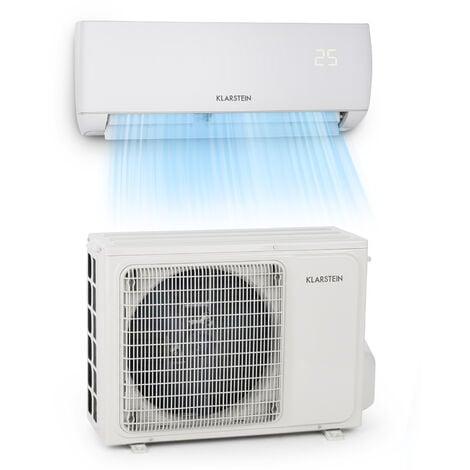 Windwaker climatiseur split 9000 BTU/2,7 kW débit d'air 600 m³/h
