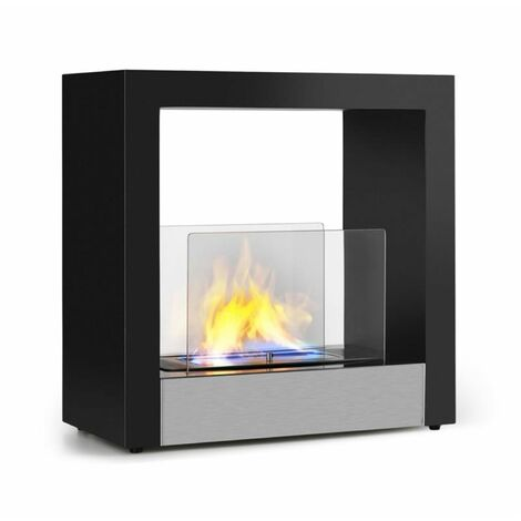 Phantasma Cube Cheminée à l'éthanol sans fumée brûleur inox