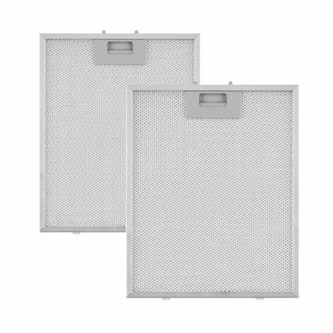 Klarstein Set 2 filtres à graisse de rechange pour hotte aspirante Sabia 23,8 x