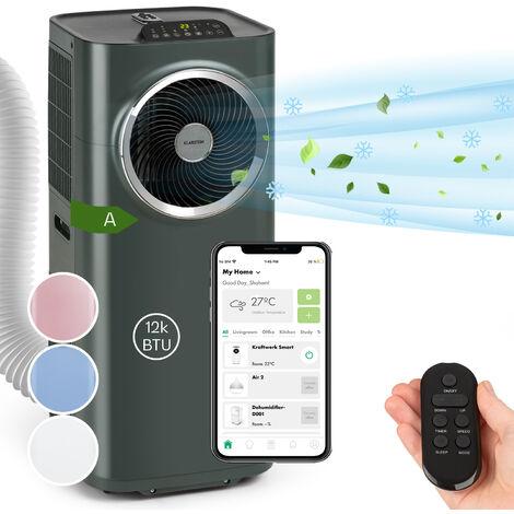 Kraftwerk Smart 12K climatiseur mobile 12000 BTU/3,5 kW anthracite