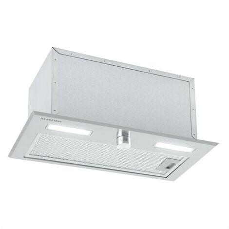Simplica Hotte aspirante encastrable 52 cm 400 m³ / h LED inox argent