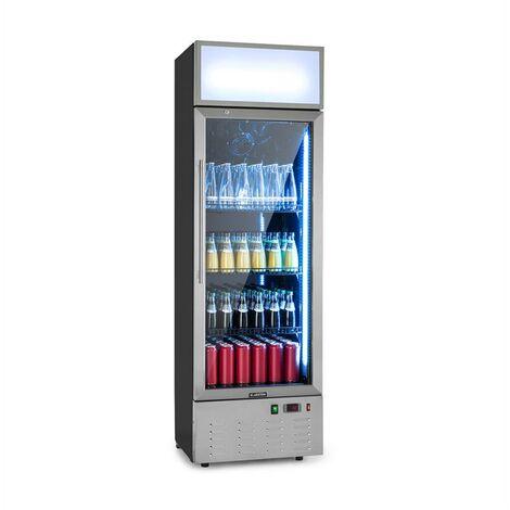 Klarstein Berghain Pro Réfrigérateur à boissons 188L 162W 2 à 8°C LED - inox