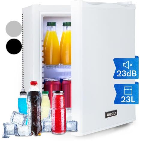 Klarstein Happy Hour 19 Mini bar 19 L 5-15°C CEE A sans bruit 0 dB éclairage LED blanc