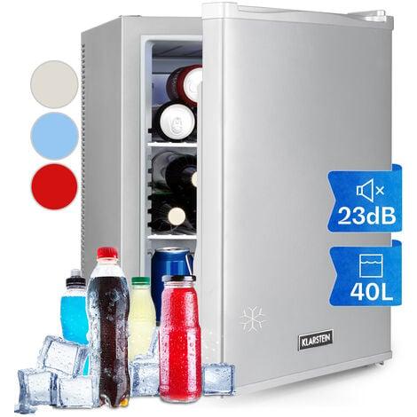 Happy Hour 37 Mini bar 37 L 5-15°C silencieux 0 dB éclairage LED argent
