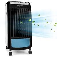 CarribeanBlue rafraichisseur humidificateur d'air ventilateur 400m³/h blanc