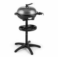 Grillpot - Grill électrique / barbecue de table plaque en fonte Ø 40cm