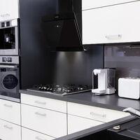 Aurica 60 Hotte aspirante 60 cm 600 m³/h LED tactile verre blanc
