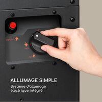 Flagranti radiateur à gaz 8kW bouteille de gaz jusqu'à 11kg inox