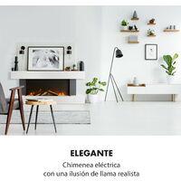 Studio Light & Fire 1 Chimenea 1000/2000 W MDF Mando a distancia Blanco