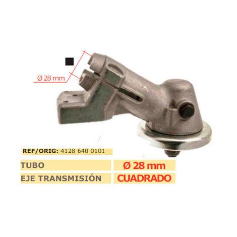 Codo transmision desbrozadora STIHL FS 450 cuadrado 28mm