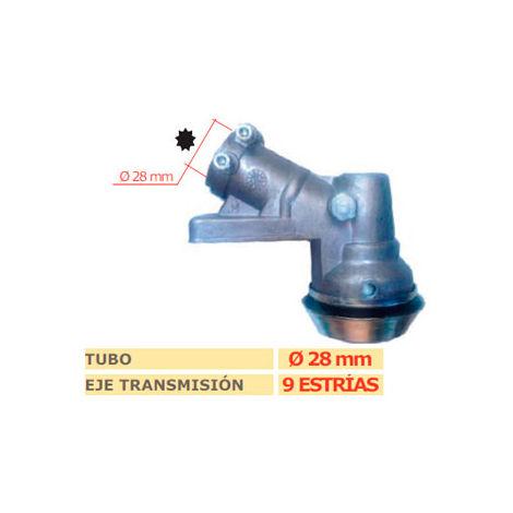 Codo transmision desbrozadora STIHL FS 120-250-KM cuadrado 28mm