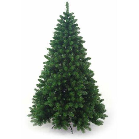 Facile da Montare Verde Festa Albero di Natale 120 cm Artificiale AGAKY Albero di Natale Slim Pieghevole Natalizie Decorazioni da Interno per Casa
