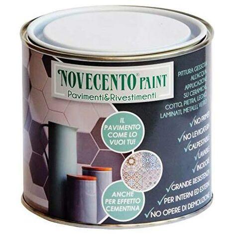 Finitura Pavimenti e Rivestimenti con Additivo Pittura 900 Novecento Paint - Finitura: Opaca