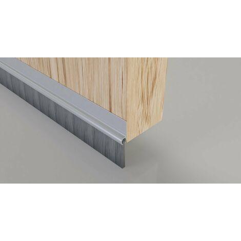 32 mm protezione in metallo Stormguard argento Deflettore da 914 mm per porta in legno UPVC