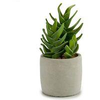 Planta de plastico captus echeveria 21 cm Verde