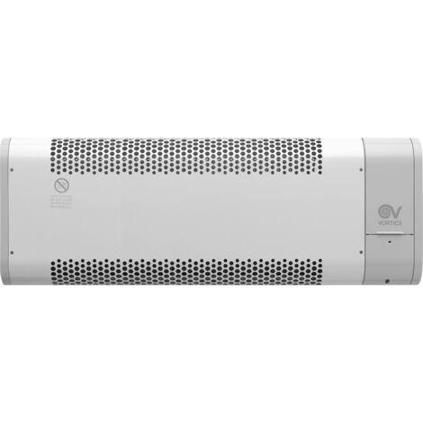 Termoconvector de vórtice eléctrico MICRORAPID con temporizador 1000W 70661