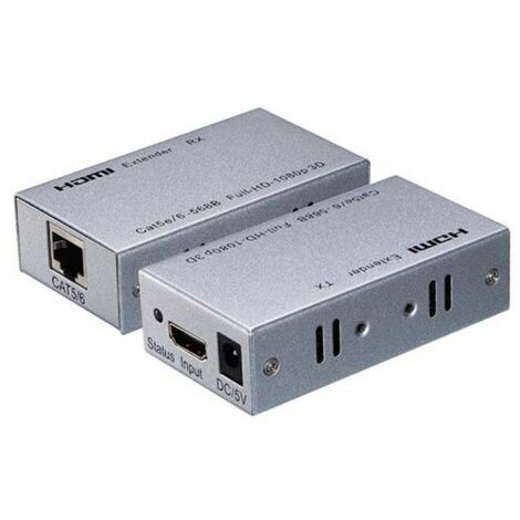 La extensión de Melchioni HDMI cable CAT5E/6 60M MKC MKH Y 16 149029058