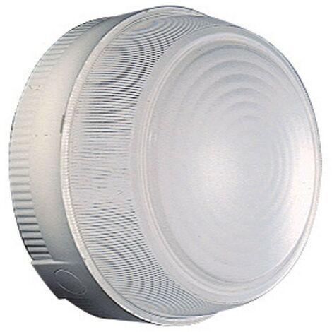 Luz de techo Redonda de Gewiss Diámetro 230 mm E27 IP44 Gris GW80652