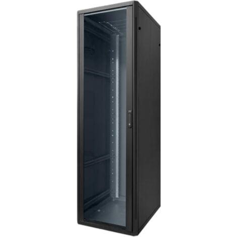 Piso armario Elemento Rack de 42 Unidad 600X600X1985 Negro 20153N