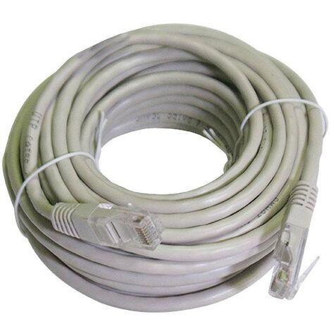 Cable de Lan Melchioni cable CAT5E UTP 10 M gris 486605352