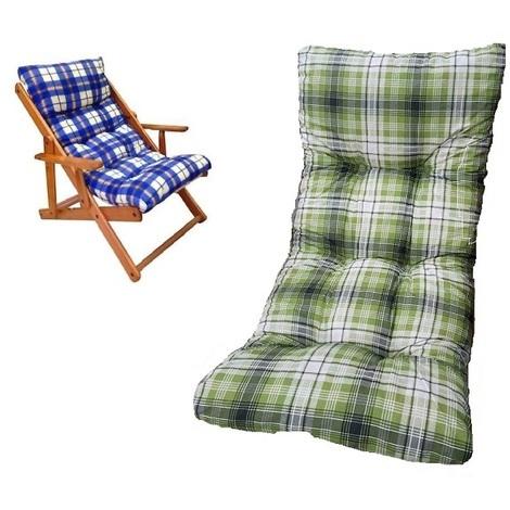 per mobili da esterni cuscino per divano longue per interni ed esterni Cuscino per panca da giardino Millster rivestimento morbido e spesso chaise per sedie a sdraio e sdraio