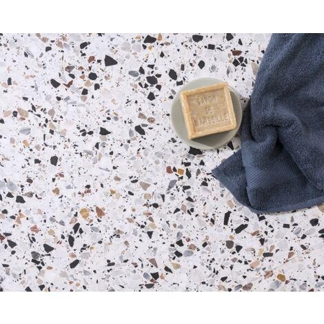 Terrazzo blanc Grigio Venato - 60 x 60 cm
