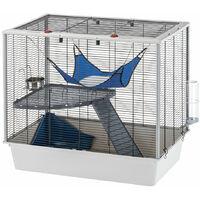 Ferplast FURAT Cage pour fûrets et rats. Variante FURAT - Mesures: 78 x 48 x h 70 cm -