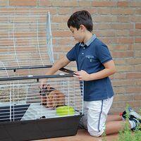 Ferplast CASITA 120 Cage pour lapins et cochons d'inde. Variante SINGLE PACKED - Mesures: 119 x 58 x h 60 cm -