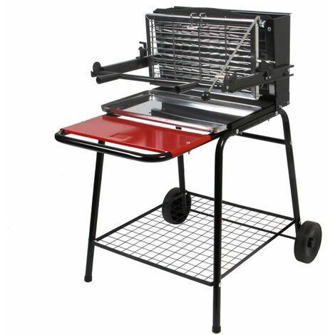 SOMAGIC Barbecue vertical Excel Grill + Tournebroche pas