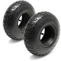 2X Inner Tube Lawn Mower tyre 18x8.50-8 Curved Valve stem Garden Tractor