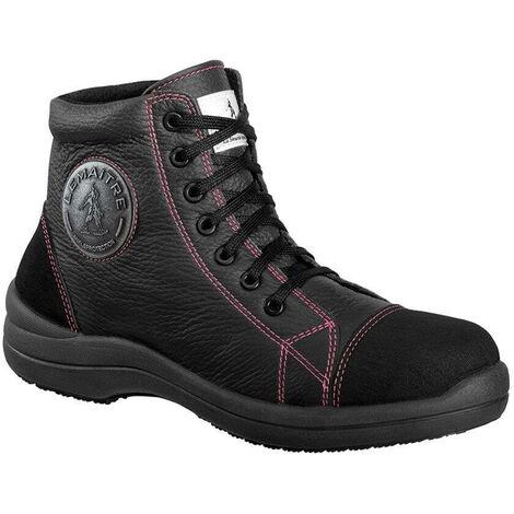 Chaussure de sécurité haute femme Lemaitre Libert'in S3 SRC Noir 42