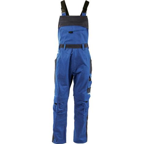 Salopette de travail 100% coton Albatros PROFI LINE Bleu Royal XS
