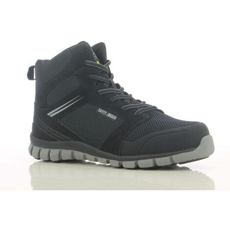 Chaussures de sécurité montantes ultra légères Safety Jogger ABSOLUTE S1P Noir 47