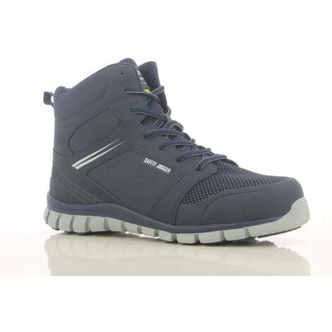 Chaussures de sécurité montantes ultra légères Safety Jogger ABSOLUTE S1P Bleu Marine 47