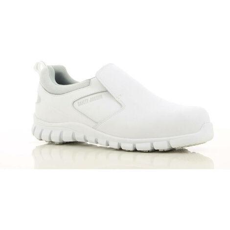 Chaussures de sécurité cuisine ultra légère Safety Jogger BRIO S2 ESD SRC Blanc 47