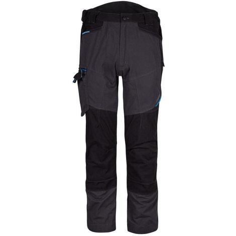 Pantalon de travail stretch multipoches Portwest WX3 Service Gris 48