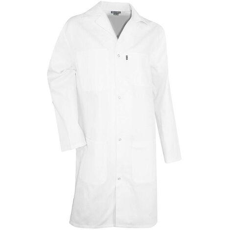 Blouse blanche de laboratoire 100% coton PALETTE LMA Blanc S
