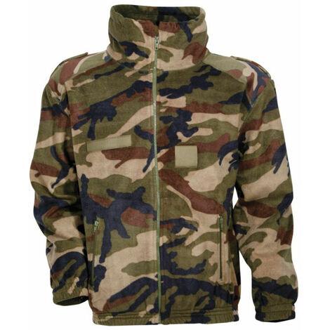 Blouson polaire CityGuard ARMY CAMO Camouflage Kaki L