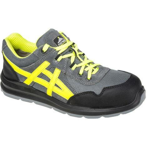 Chaussures de sécurité basses Portwest Mersey Steelite S1 Gris 41