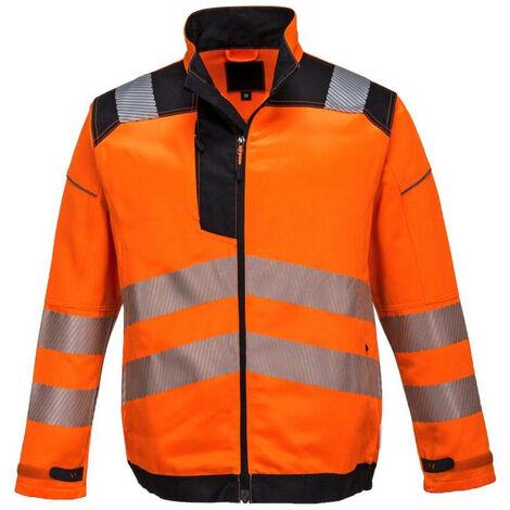 Veste haute visibilité Portwest VISION Orange / Noir XL
