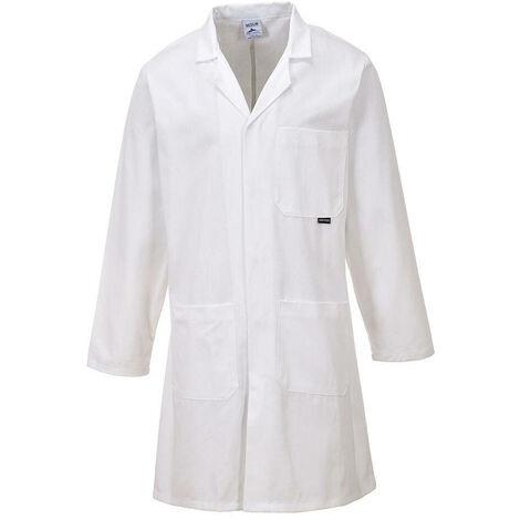 Blouse de laboratoire Portwest Standard 100% Coton Blanc XS