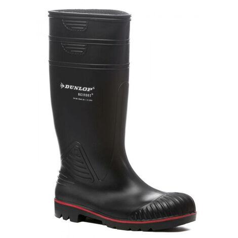 Botte de sécurité Dunlop ACIFORT S5 SRA Noir 44