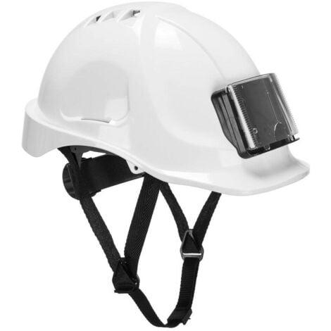 Casque de travail avec porte badge Portwest Endurance Blanc Unique