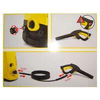 Poignee et flexible Karcher quick coupling