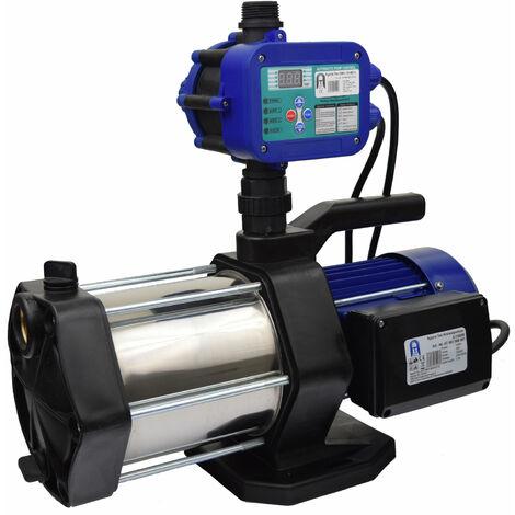 Agora-Tec® Hauswasserautomat Hauswasserwerk-5-1300-15DW mit Druckschalter (Ausschaltdruck einstellbar)