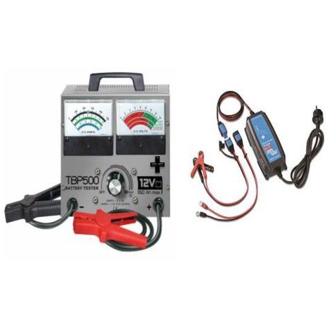 kit testeur TBP500 batterie 10Ah à 160Ah 12V  (Ampérage  : 15 A)