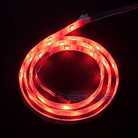 Ruban LED puissant étanche RGB en 1 et 5M - LED 4G (Longueur  : 1 Mètre)