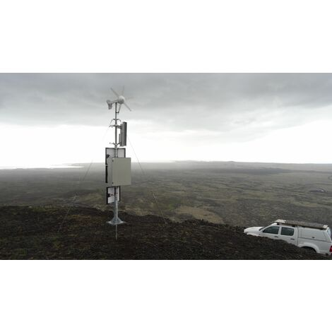 Eolienne Rutland FM910-4 Furlmatic 12V (Voltage : 24 volts)